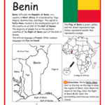 Benin - Introductory Geography Worksheet