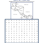 Central America Word Search Puzzle