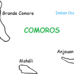 Comoros - Introductory Geography Worksheet and Interactive Notebook Activity