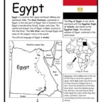 Egypt - Printable handout