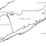 Long Island - Printable Handouts with Map of Long Island