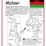 Malawi - Printable handout