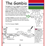 The Gambia - Printable handout
